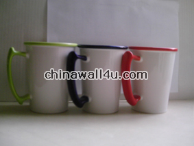CT348 Color Band Mugs