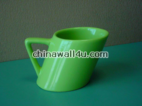 CT350 SolidColor Slanting Mug