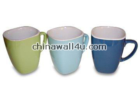CT353 SolidColor Square Mugs