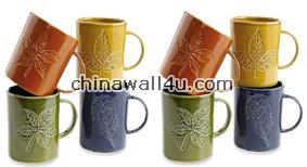 CT648 Leaf mugs