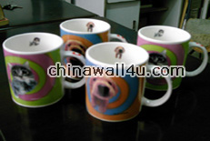 CT651 Mugs with cat decal