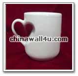 CT755 heart shape mug
