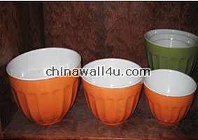 CT607 Rice bowls in set of 3
