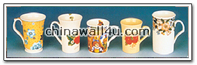 CT503 decorated mug in variety